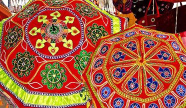 appliqué items Pipli- art crafts odisha tour