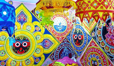 Applique work of Odisha