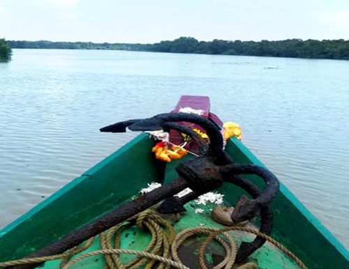 Boat at Bhitarkanika Nature Camps