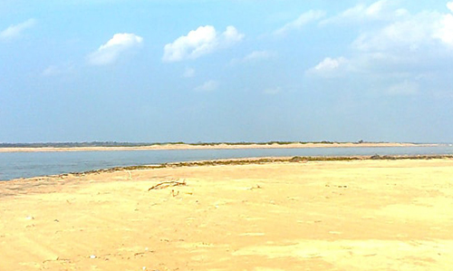 Sand- Chilika Nature Camp