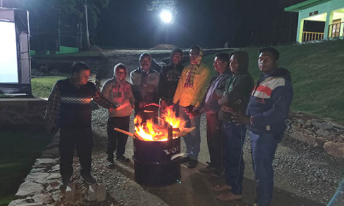 Fire born camp Khandadhar