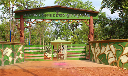 Entrance Gate Sarafgarh Nature Camp