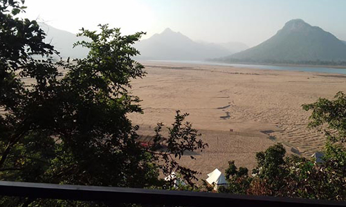 Satkosia Gorge and Mahanadi From AC Cottages