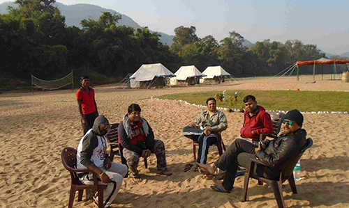 Satkosia Sands Resort camp