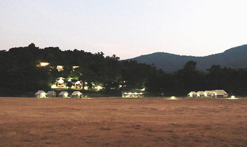 Where to Stay- Satkosia Sands Resort camp