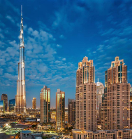 Sparkling Dubai: Desert Safari & Burj Khalifa Tour Package