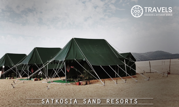 8. Satkosia Sand Resorts